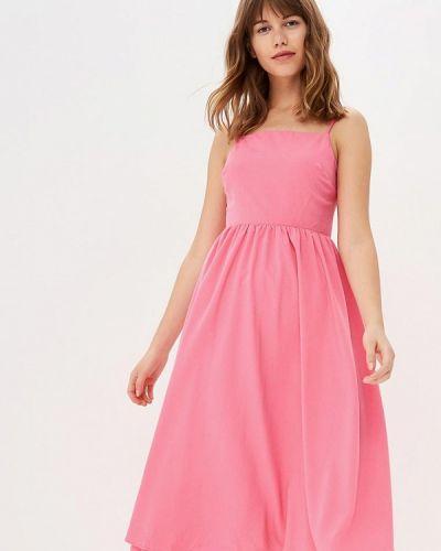Розовый сарафан Warehouse