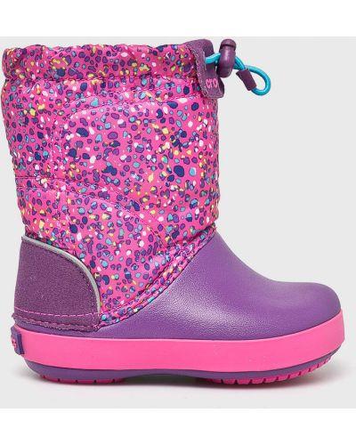 Ботинки фиолетовый Crocs