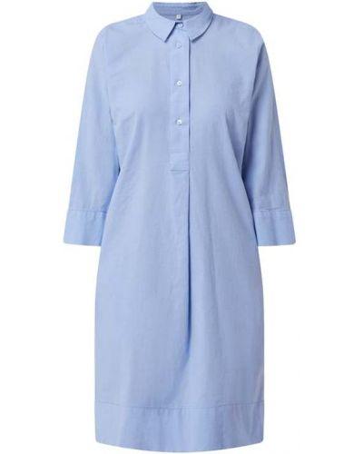 Sukienka rozkloszowana - niebieska Milano Italy