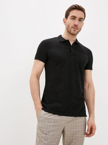 Черная футболка Piazza Italia