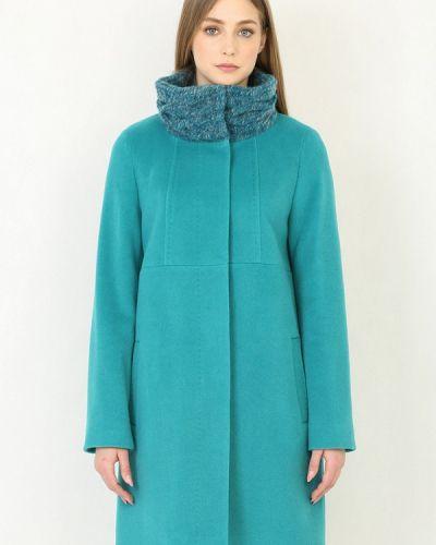 Пальто - бирюзовое Trifo