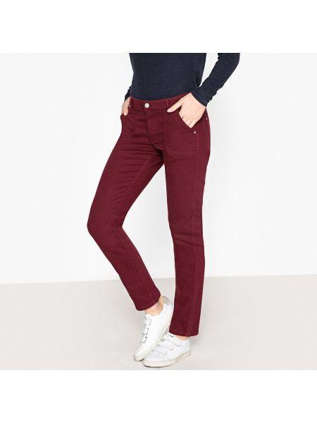 Зауженные джинсы - красные Ikks