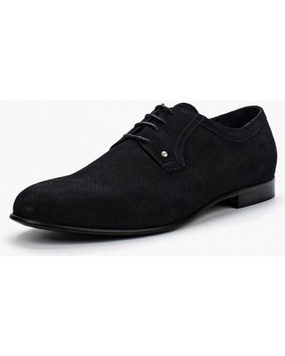 Синие туфли из нубука Dino Ricci