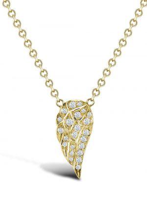 Диадема золотая с бриллиантом круглая Pragnell