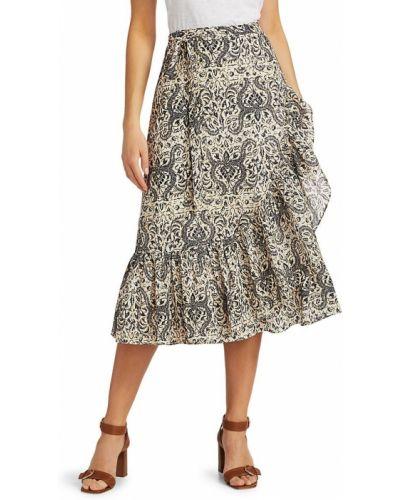 Хлопковая юбка миди Figue