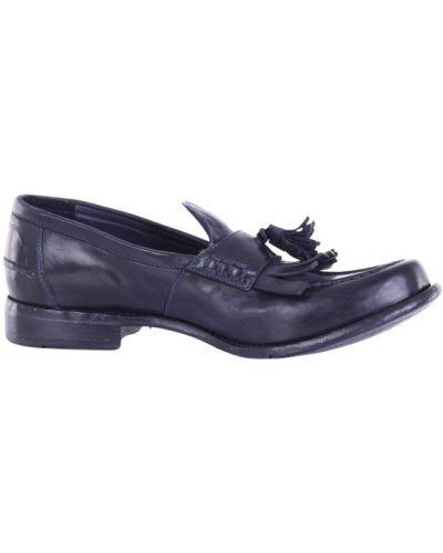 Niebieskie loafers Lemargo