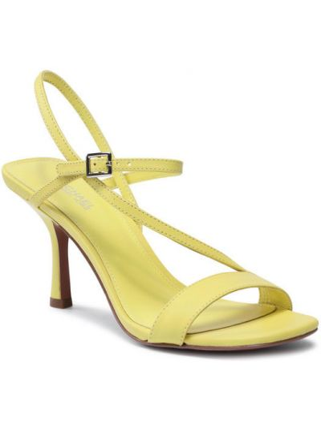 Żółte sandały Michael Michael Kors
