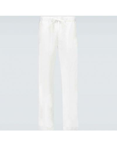 Beżowe spodnie Frescobol Carioca