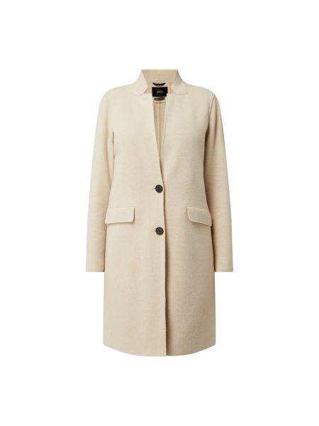 Płaszcz wełniany - biały Set