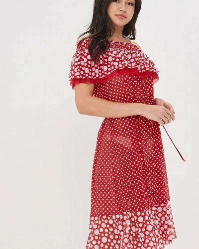 Красное пляжное платье Charmante