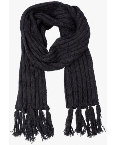Черный шарф осенний Fomas