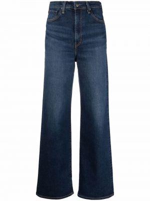 Джинсы клеш расклешенные - синие Levi's®  Made & Crafted™