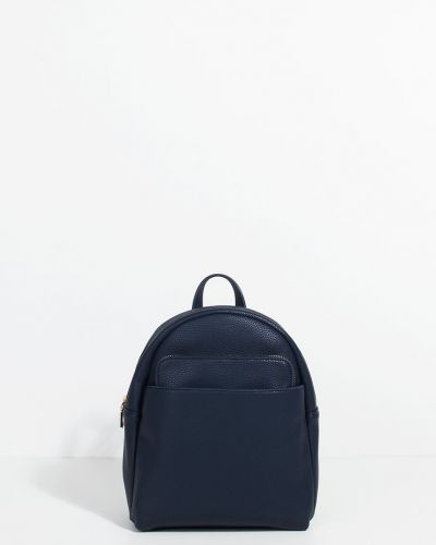 Кожаный рюкзак синий темно-синий Parfois