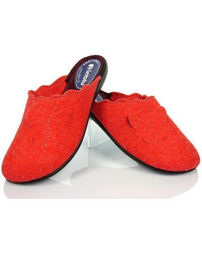 Красные зимние тапочки Inblu