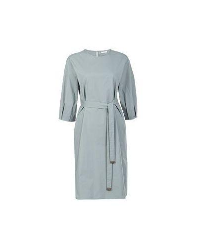 Деловое платье зеленый Peserico