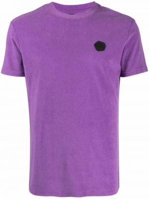 Fioletowa t-shirt bawełniana Viktor & Rolf