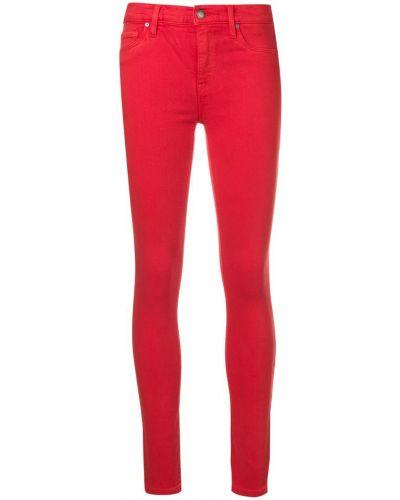 Зауженные джинсы - красные Hudson