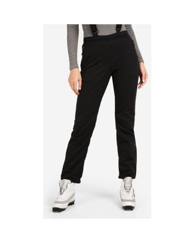 Черные спортивные брюки софтшелл для бега Madshus