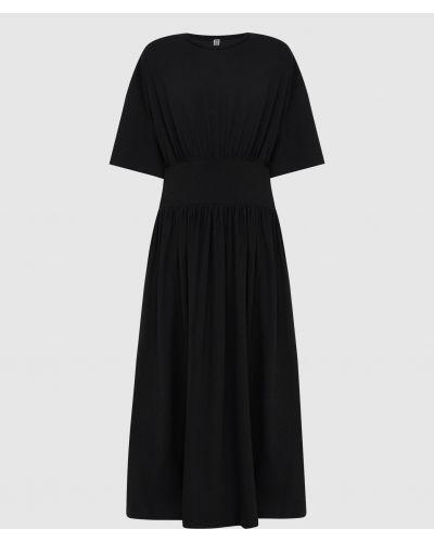 Платье миди - черное Toteme
