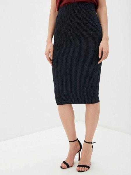 Облегающее платье синее клубное Concept Club