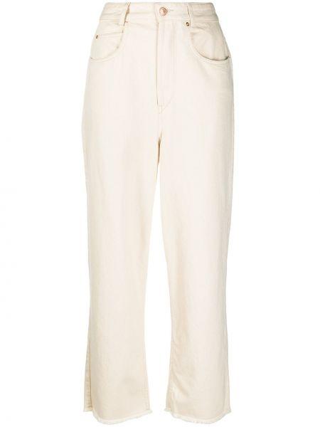 Prosto bawełna klasyczny jeansy z kieszeniami Isabel Marant