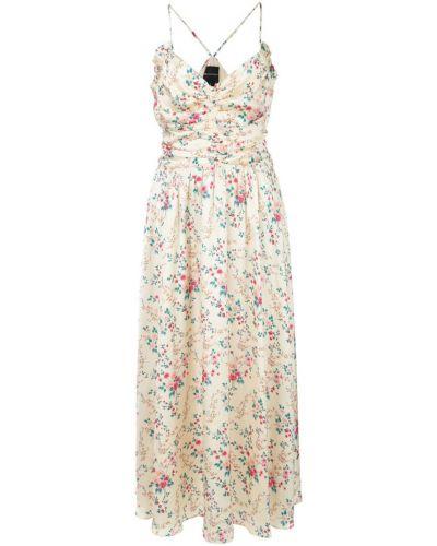 Платье с цветочным принтом ампир Jill Jill Stuart