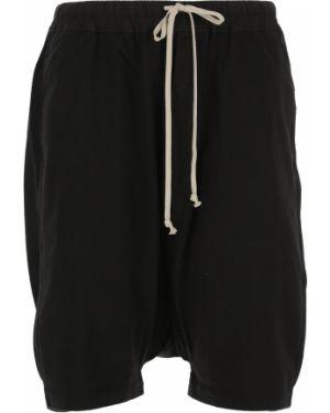 Czarne szorty bawełniane Drkshdw