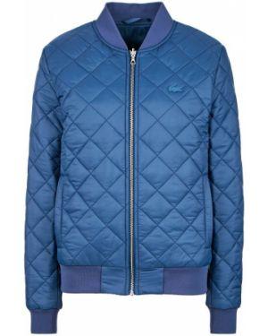 Синяя куртка двусторонняя Lacoste