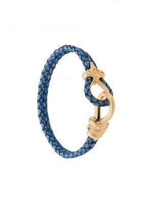 Bransoletka duży skórzany Nialaya Jewelry