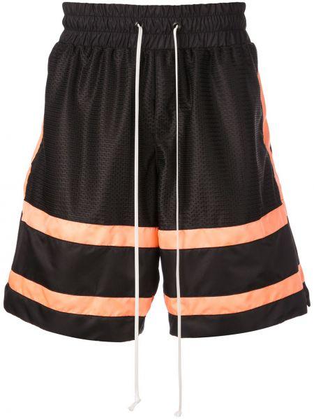 Спортивные шорты черные в полоску Daniel Patrick