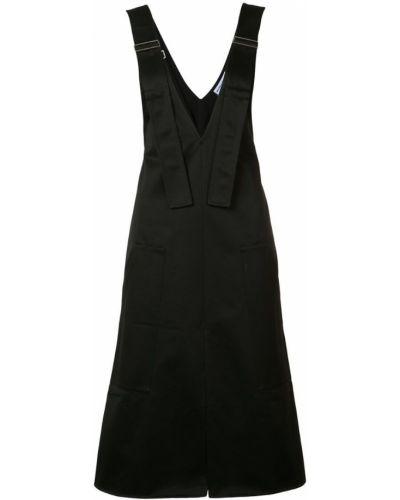 Черный сарафан Wanda Nylon