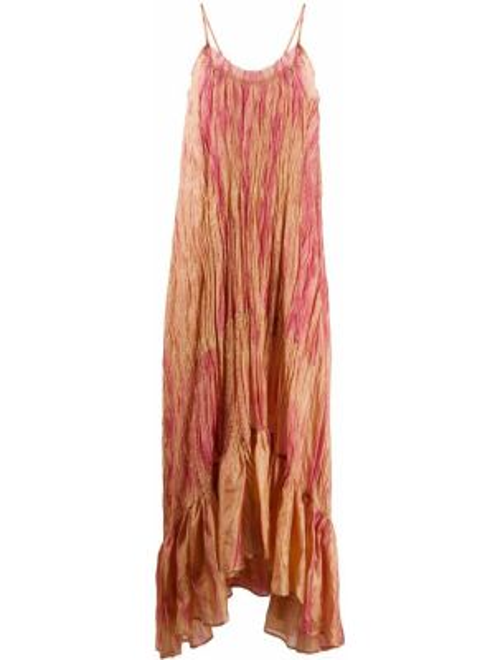 Платье макси на бретелях с драпировкой Mes Demoiselles
