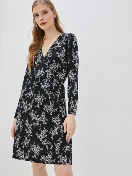 Платье прямое черное Ovs