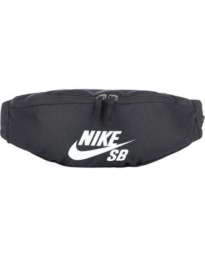 Спортивная сумка поясная черная Nike
