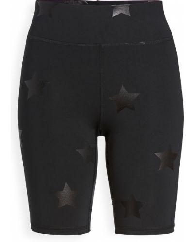 Трикотажные компрессионные черные шорты Terez