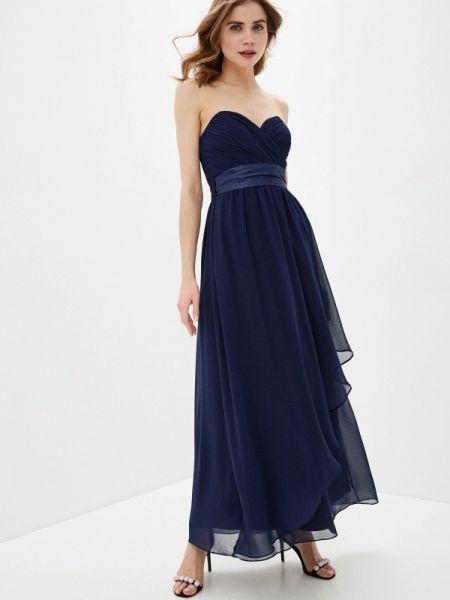 Вечернее платье синее весеннее Dorothy Perkins