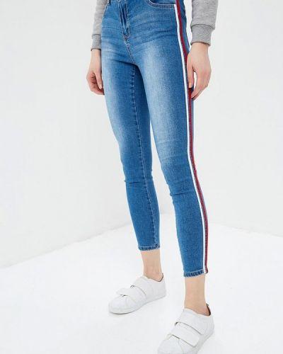 Зауженные джинсы - синие Jennyfer