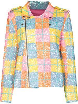 Куртка байкерская - синяя Ashish