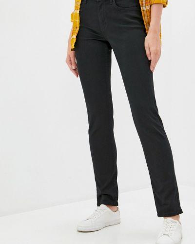 Черные джинсы-скинни узкого кроя S.oliver