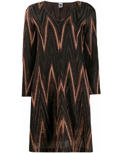 Платье с V-образным вырезом с вырезом M Missoni