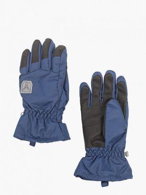 Синие перчатки Hofler