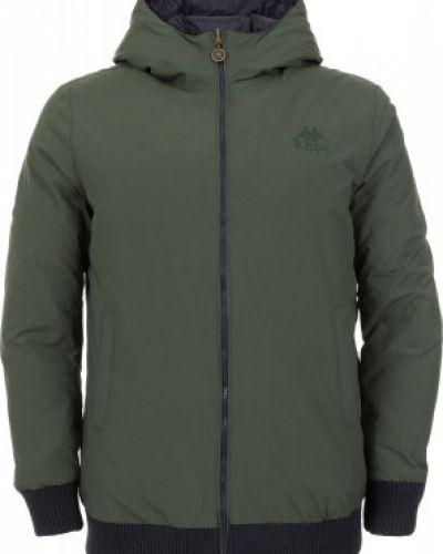 Утепленная куртка с капюшоном спортивная Kappa