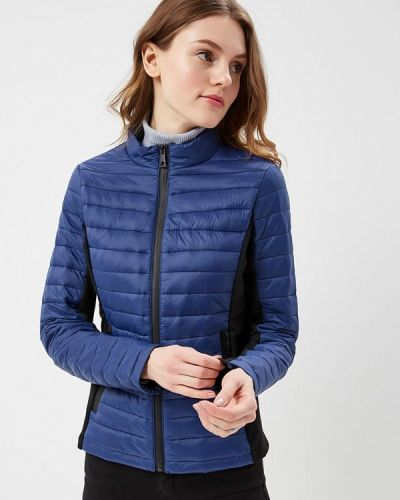 Синяя утепленная куртка B.style