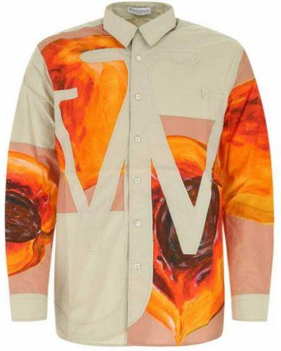 Beżowa koszula Jw Anderson