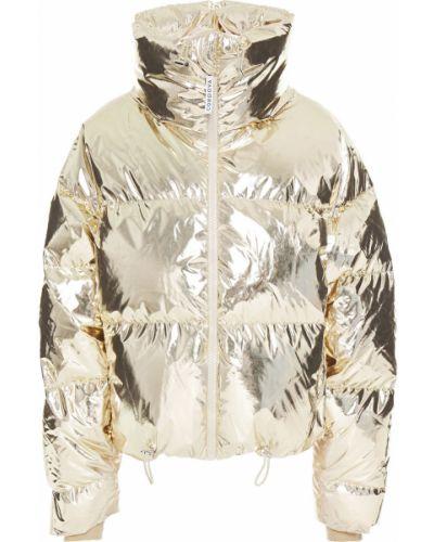 Złota kurtka pikowana Cordova