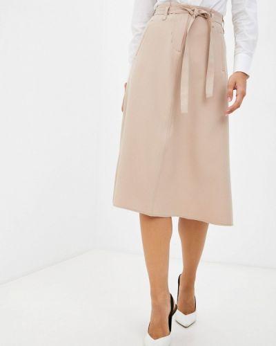 Бежевая турецкая юбка Franco Vello