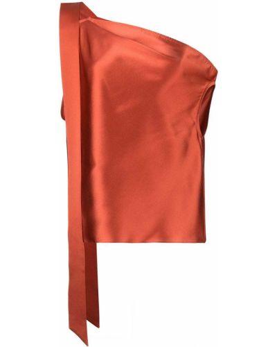 Топ с открытыми плечами - оранжевый Michelle Mason