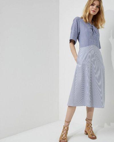 Голубое платье Carven