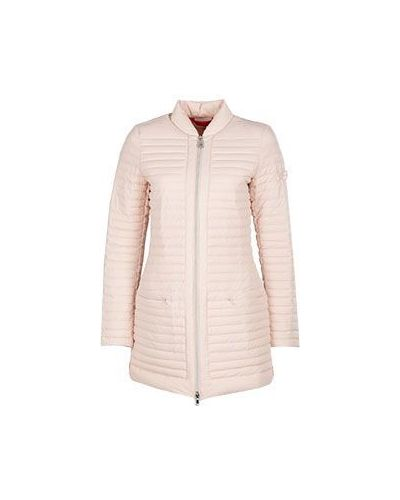Зимняя куртка демисезонная розовая Peuterey