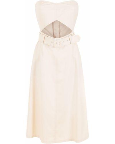 Платье с вырезом НК